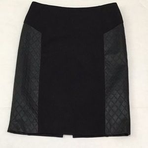SHARAGANO LUXE PENCIL SKIRT